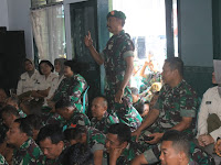 Dandim 0808/Blitar TNI Harus Selalu Mencintai Rakyat Dan Mampu Menjadi Perekat Semua Golongan