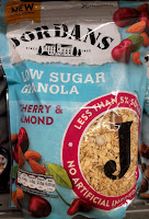 Jordans low sugar cherry & almond granola