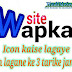 Wapka website me icon kaise lagaye. Icon lagane ke tin tarike.