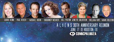 Aliens 30th Anniversary Cast Reunion at Comicpalooza 2016 in Houston, Texas on June 17-19