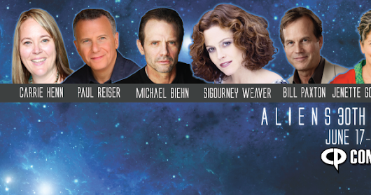 The Blot Says...: The Cast of Aliens Invade Comicpalooza 2016 To Celebrate the Film's 30th Anniversary!