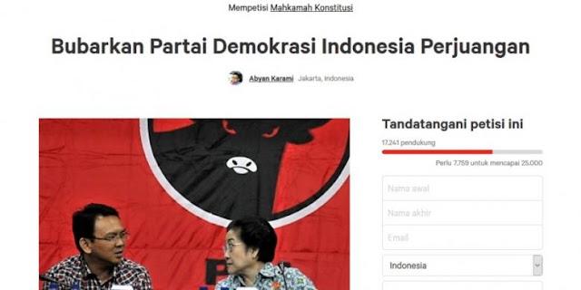 Gawat Mulai Panas !! PDI-P Mau di Bubarkan..