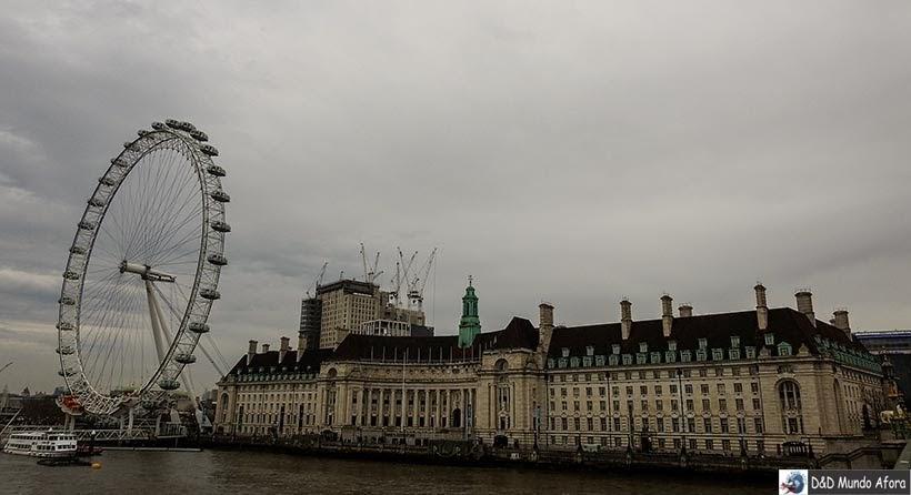 Londo Eye - Diário de Bordo - 5 dias em Londres