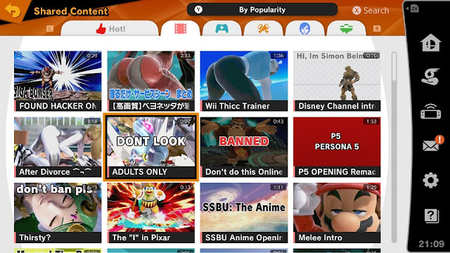 Super Smash Bros. Ultimate Shared Content Videos by Popularity lewd ass porn Zero Suit Samus Wii Fit Trainer butts