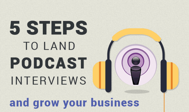 5 Steps To Land Podcast Interview And Grow Your Business