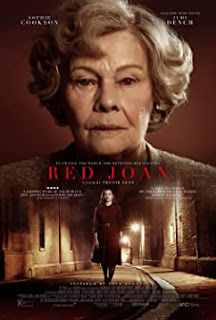 Red Joan poster featuring Judi Dench