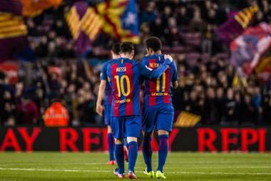 Barcelona defending problem exposed