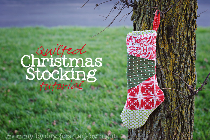 Make A Gorgeous Quilted Christmas Stocking Holiday Tutorial Inspiration Quilted Christmas Stocking Pattern