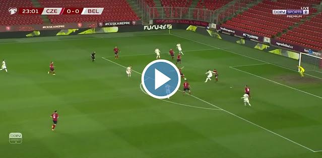 Czech Republic vs Belgium Live Score