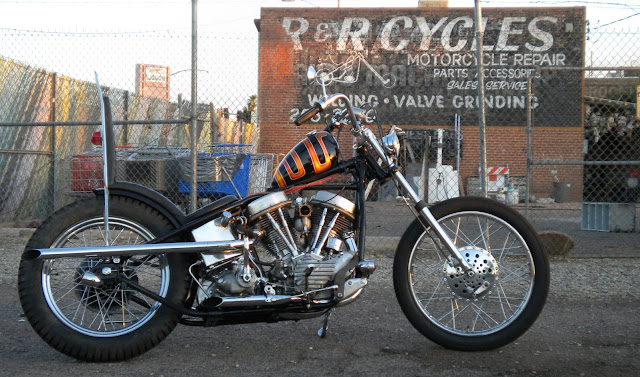 Harley Davidson Panhead 1950 By Love Cycles Hell Kustom