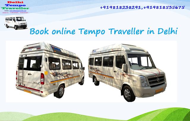 Book Online Ac & Non Ac Tempo Traveller Hire in Delhi NCR