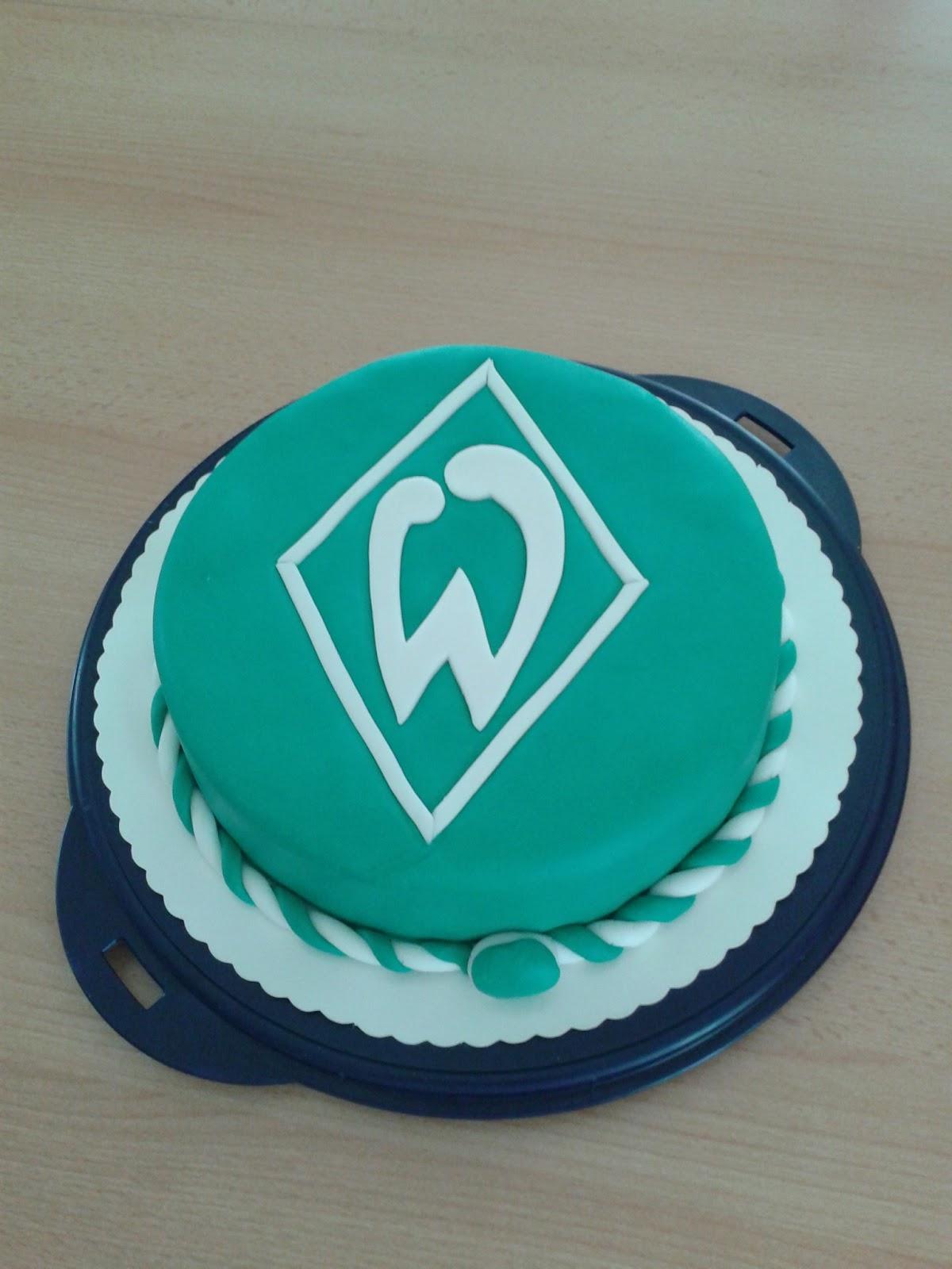 Dream Color Cakes Grune Zebra Zielona Zebra Werder Bremen Torte
