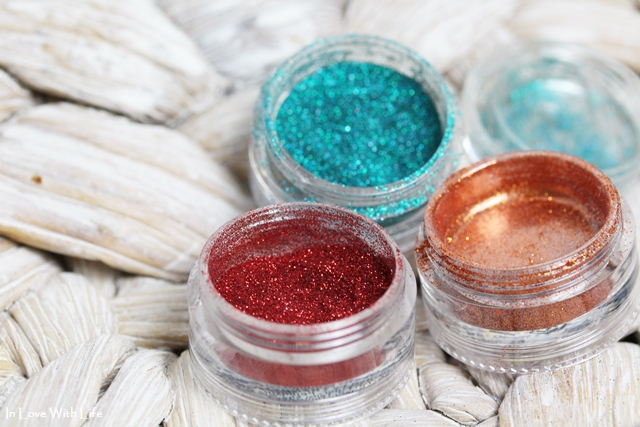 Glitza Fashion Tattoos Glitterpuder aus Set Oriental