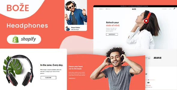 Best Headphone and Audio Store Shopify Theme