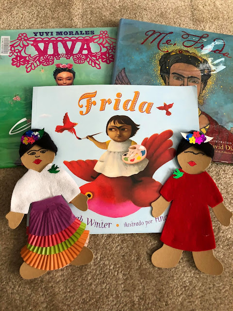 Frida books and crafts