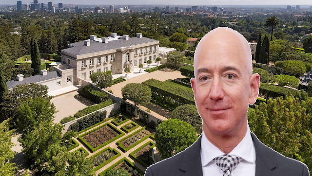 Amazon founder Jeff Bezos bought new house for his girlfriend worth Rs 1178 crore