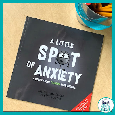 a little spot of anxiety book about testing days for children