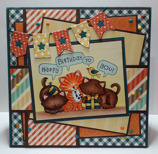 Happy birthday to you by Vannessa features Newton's Birthday Trio by Newton's Nook Designs; #newtonsnook