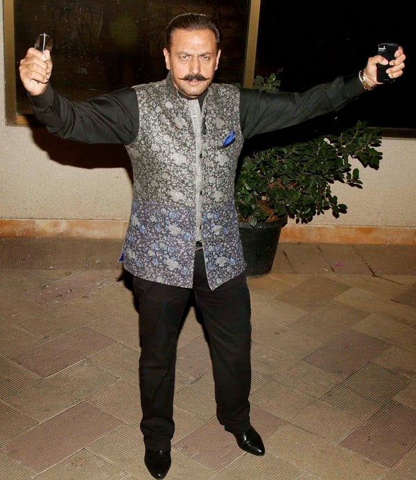 Celebs Sanjay Dutt's New Year bash 2015