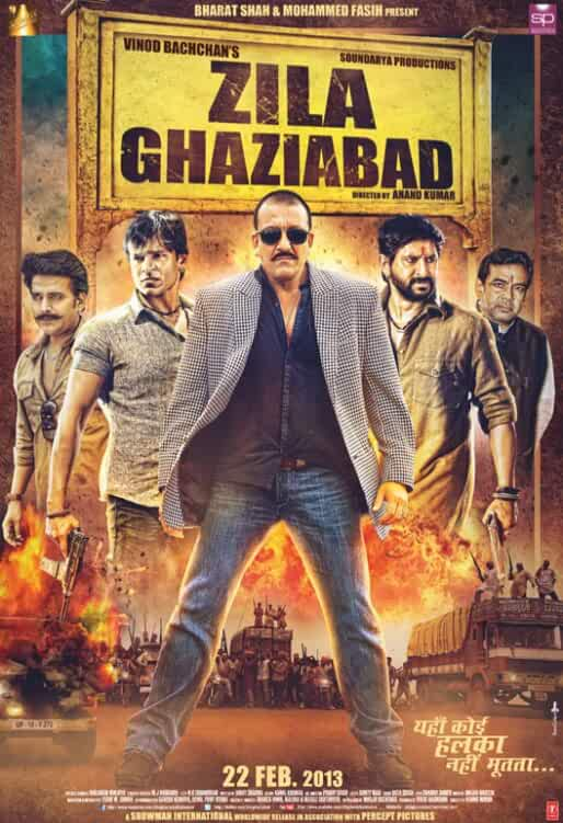 Zila Ghaziabad 2013 Hindi 480p 400MB HDRip