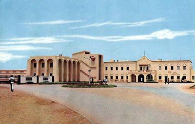 Edificio del Hospital de Sidi Ifni.