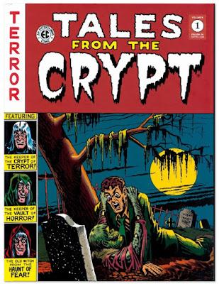 """Portada Tales from the crypt"""" de V.V.A.A editado por Diabolo"""