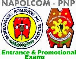 Napolcom PNP entrance and promotional exams