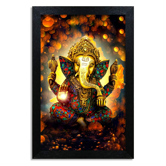 Lord Ganesha Wall Paintings