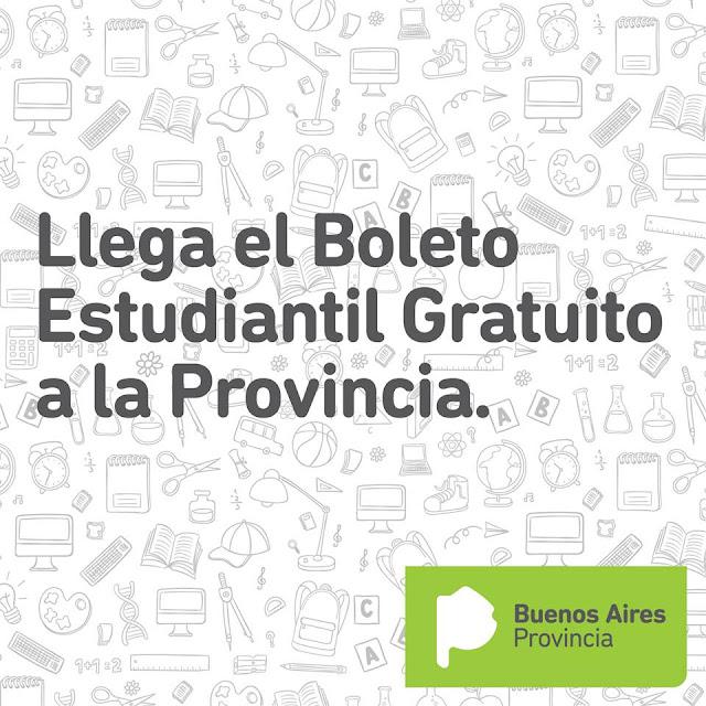 AMPLÍAN EL BOLETO ESTUDIANTIL GRATUITO