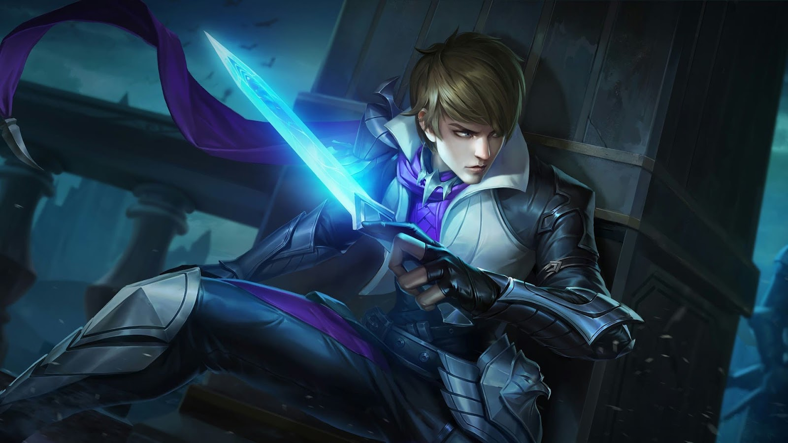 Wallpaper Gusion Holy Blade Skin Mobile Legends HD for PC