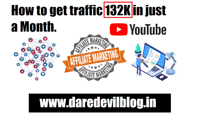 How to get traffic 132K in just a Month [Practically]
