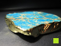 Seite: Gorudo Schmuck® - Roh-Jasper Gold filled Halskette Golddipping