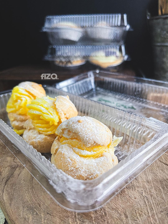 Cream puffs Baker's Cottage