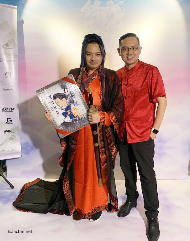 Dr Zyro Wong's Oriental Myths & Legends Charity Birthday Celebration