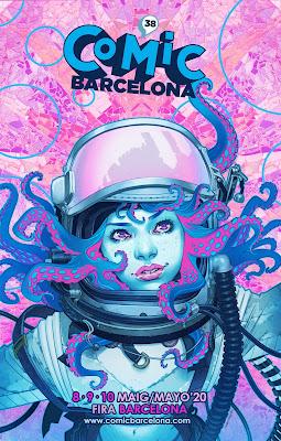 Eventos: Presentación del 38º Cómic Barcelona con cartel y nuevos espacios