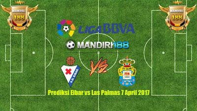 AGEN  BOLA - Prediksi Eibar vs Las Palmas 7 April 2017