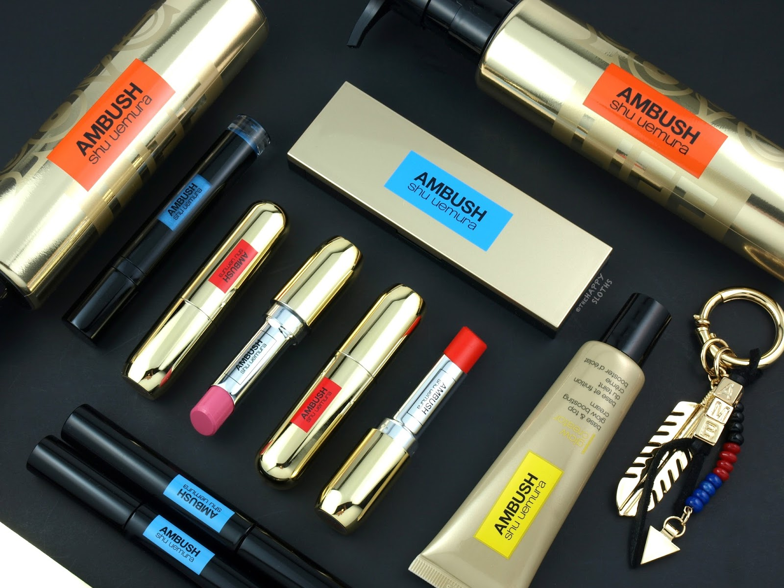 Shu Uemura x AMBUSH Collection: Review and Swatches