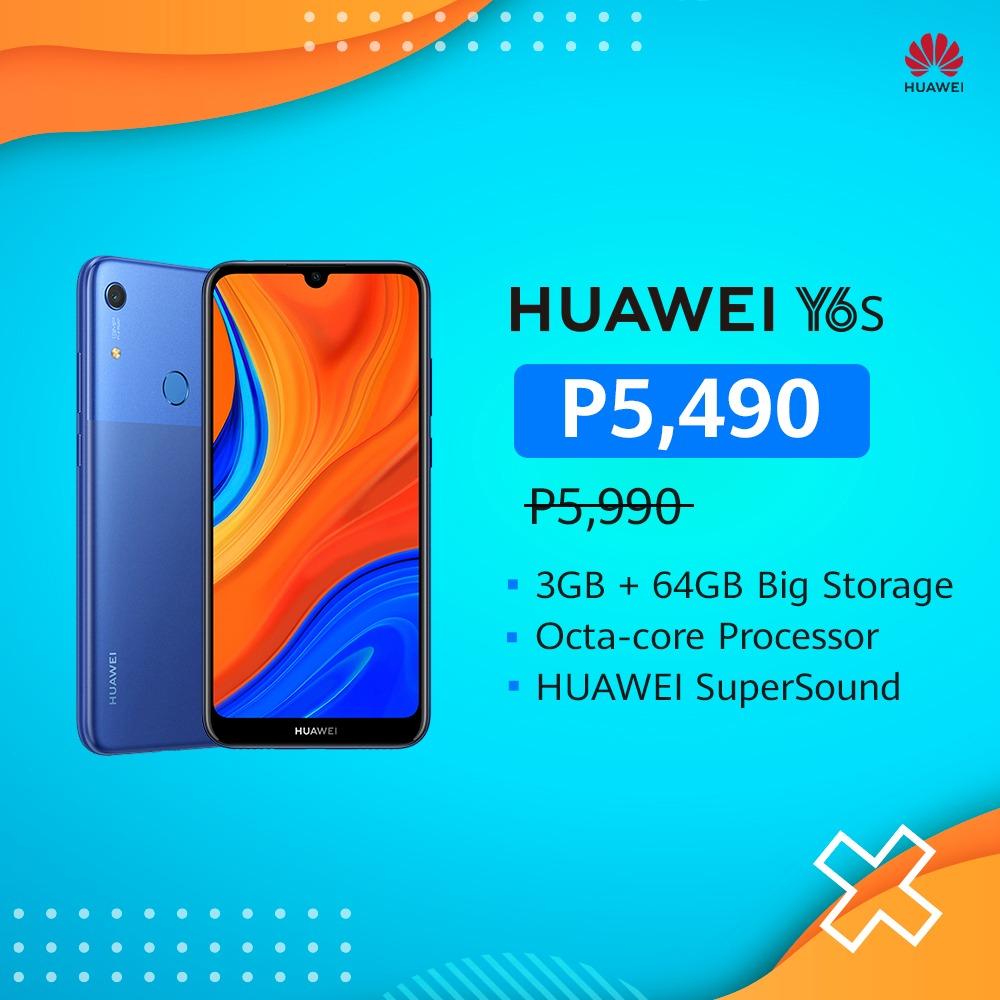 huawei y6s discount