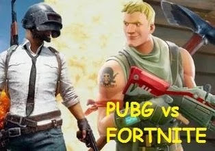 PUBG vs FORTNITE-Which game is better popularity,downloads,graphics,rating,users,size,abilities,memes,map,match time