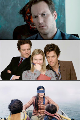 Insidious / Bridget Jones's Diary /  BirdBox