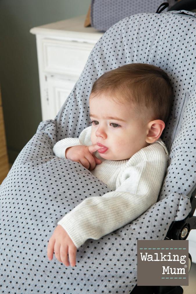 saco de invierno para sillita de bebé walking mum