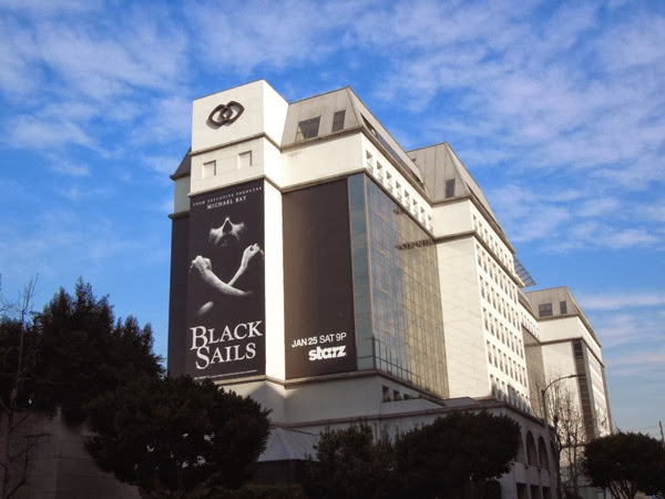 Giant Black Sails season 1 billboard Sofitel Hotel