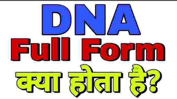 DNA Full Form in Hindi Medical Translation का मतलब क्या होता है।
