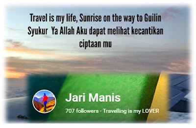 Sayonara Buat Blogger Jari Manis @ JM. Kungjung Mengunjung Sesama Blogger. Terima Kasih Semua