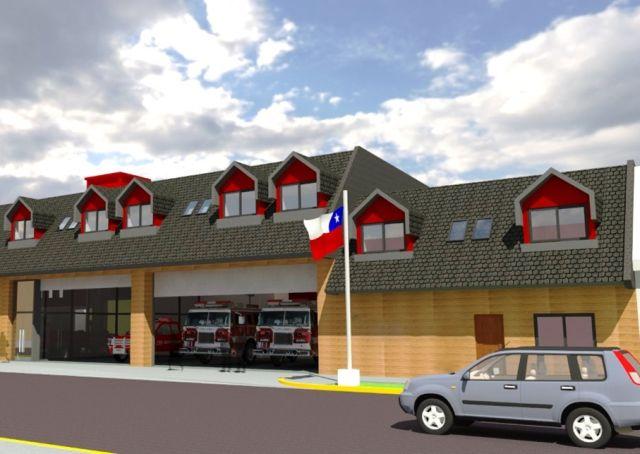 Proyecto nuevo cuartel de 6ta. Compañía