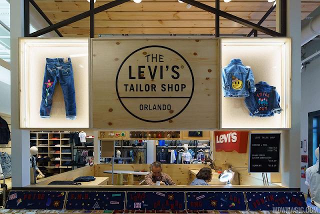 Endereços da Levi's em Miami e Orlando
