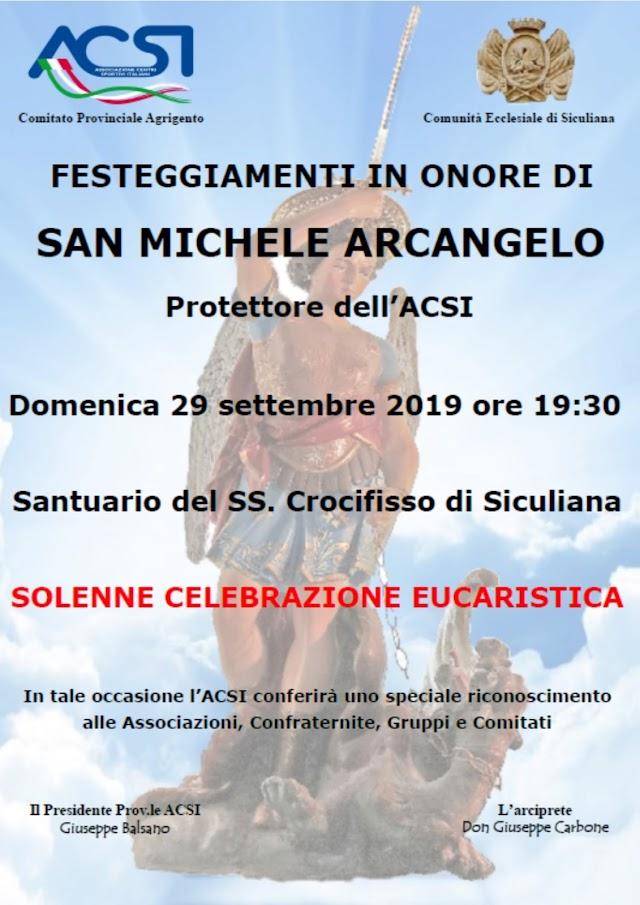 Festa San Michele Arcangelo 2019