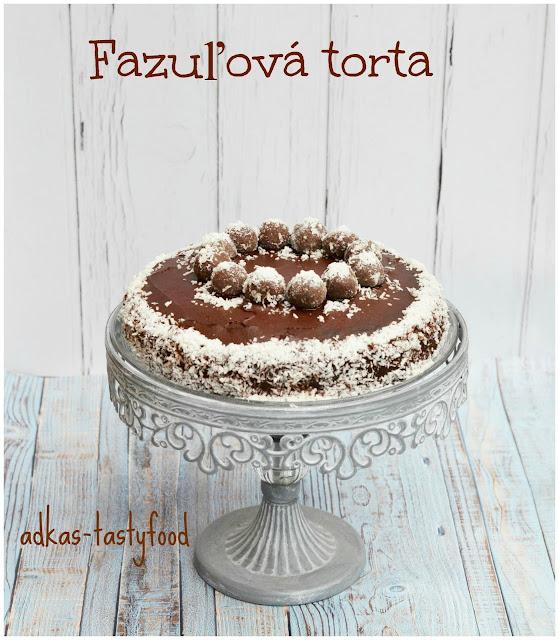 Fazuľová torta (bez múky)