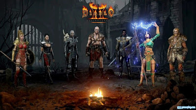Diablo II Resurrected Open Beta - There is a shared stash