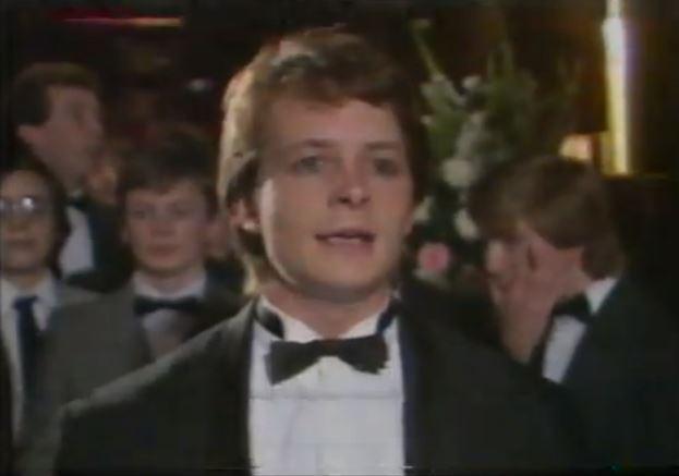 michael j fox 1985